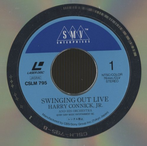 Swinging Out Live Harry Connick, Jr &