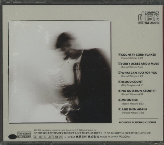 NO QUESTION ABOUT IT/BOBBY WATSON&HORIZON BOBBY WATSON 画像