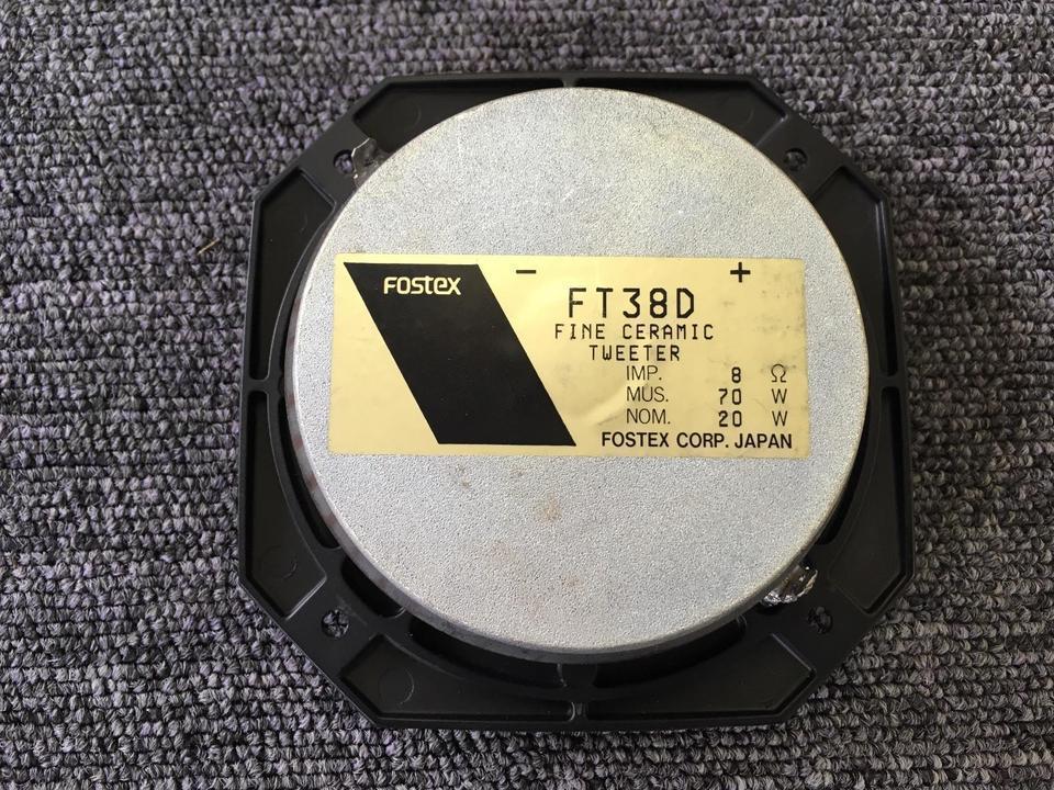 FT38D FOSTEX 画像