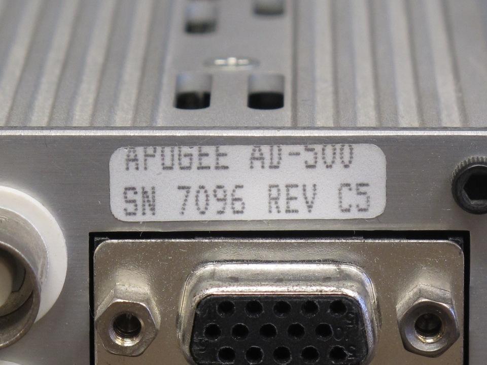 DA1000+AD500+PS1000 APOGEE アポジー D/Aコンバータ image[j]