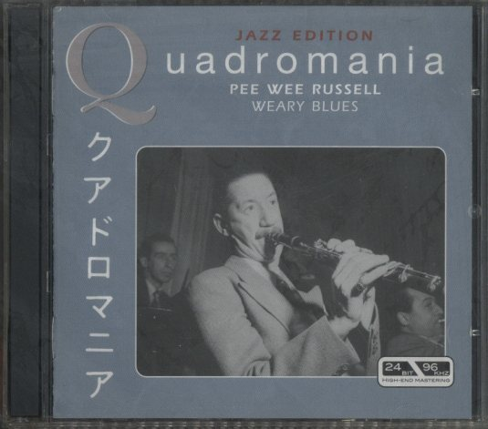 QUADROMANIA/PEE WEE RUSSELL PEE WEE RUSSELL 画像