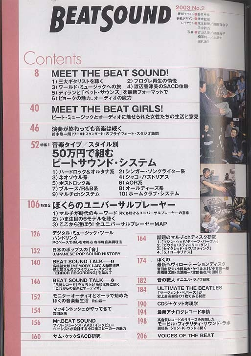 BEAT SOUND NO.2 2003  画像