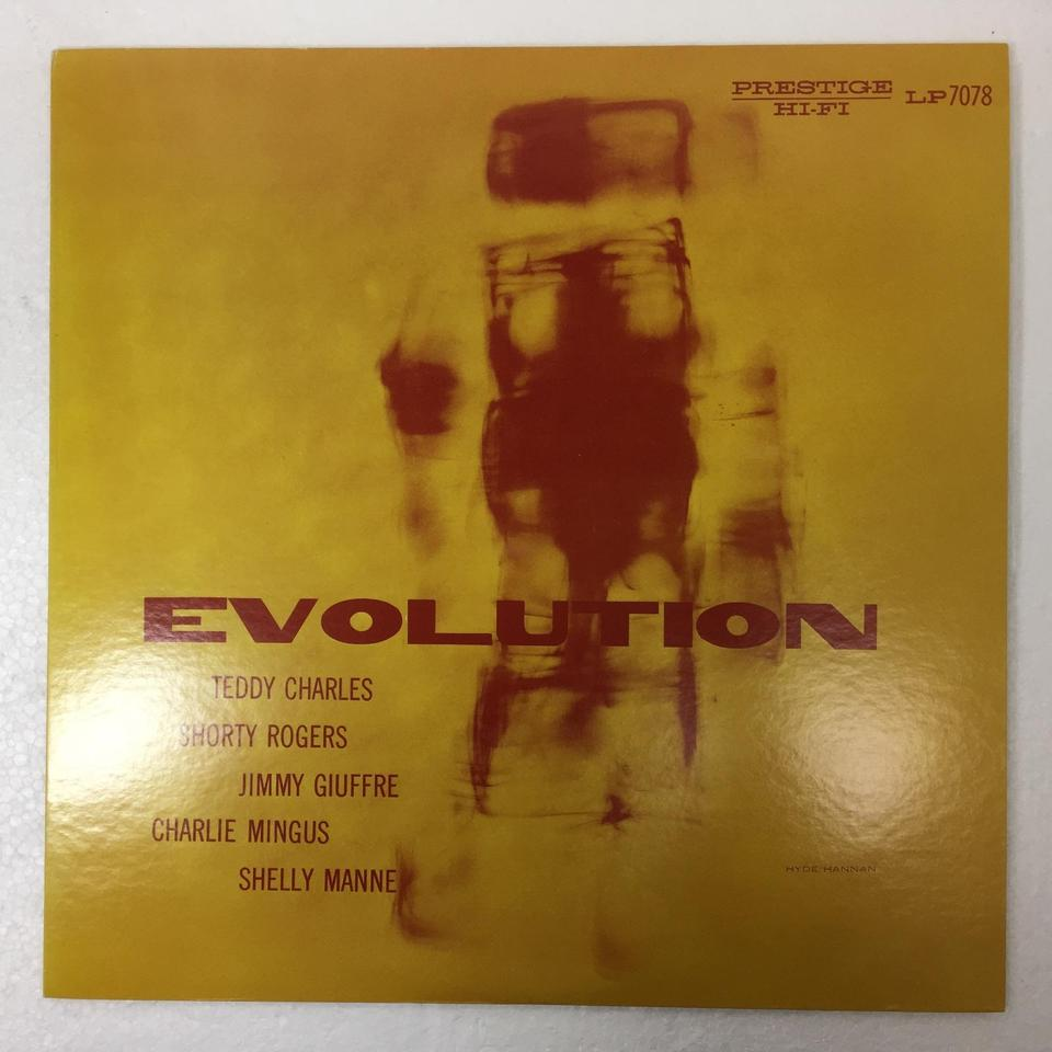 EVOLUTION/TEDDY CHARLES TEDDY CHARLES 画像