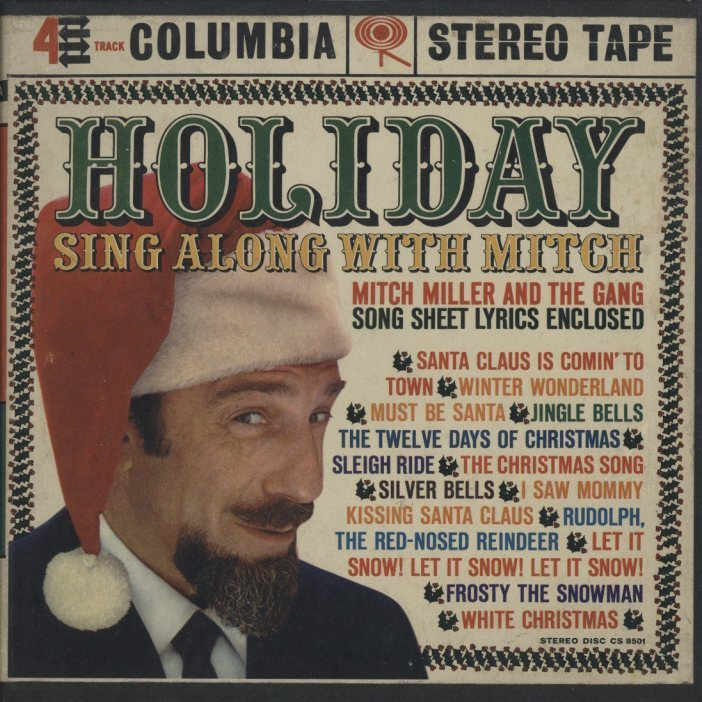 holiday sing along with mitchmitch miller
