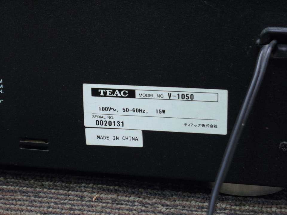 V-1050 TEAC 画像