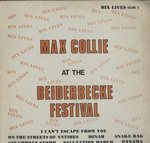 MAX COLLIE AT THE BEIDERBECKE FESTIVAL
