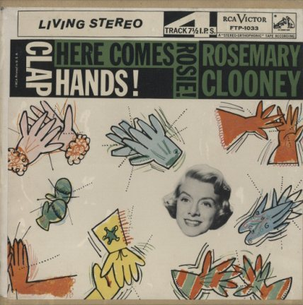 CLAP HANDS! HERE COMES ROSIE!/ROSEMARY CLOONEY  画像