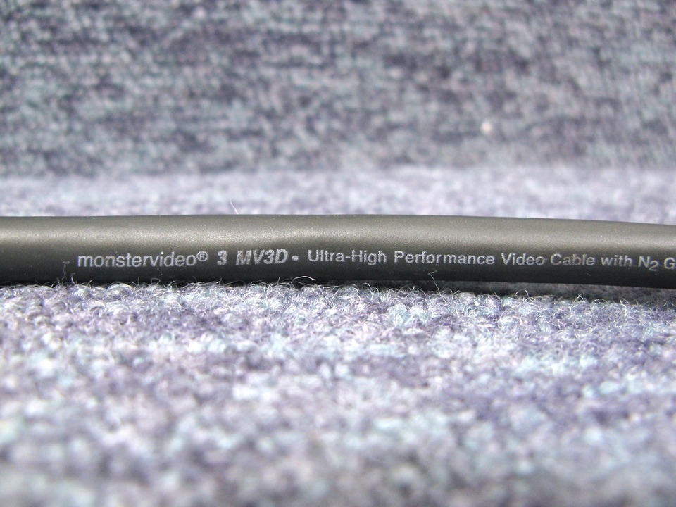 MV3DD/8.0m MONSTER CABLE 画像