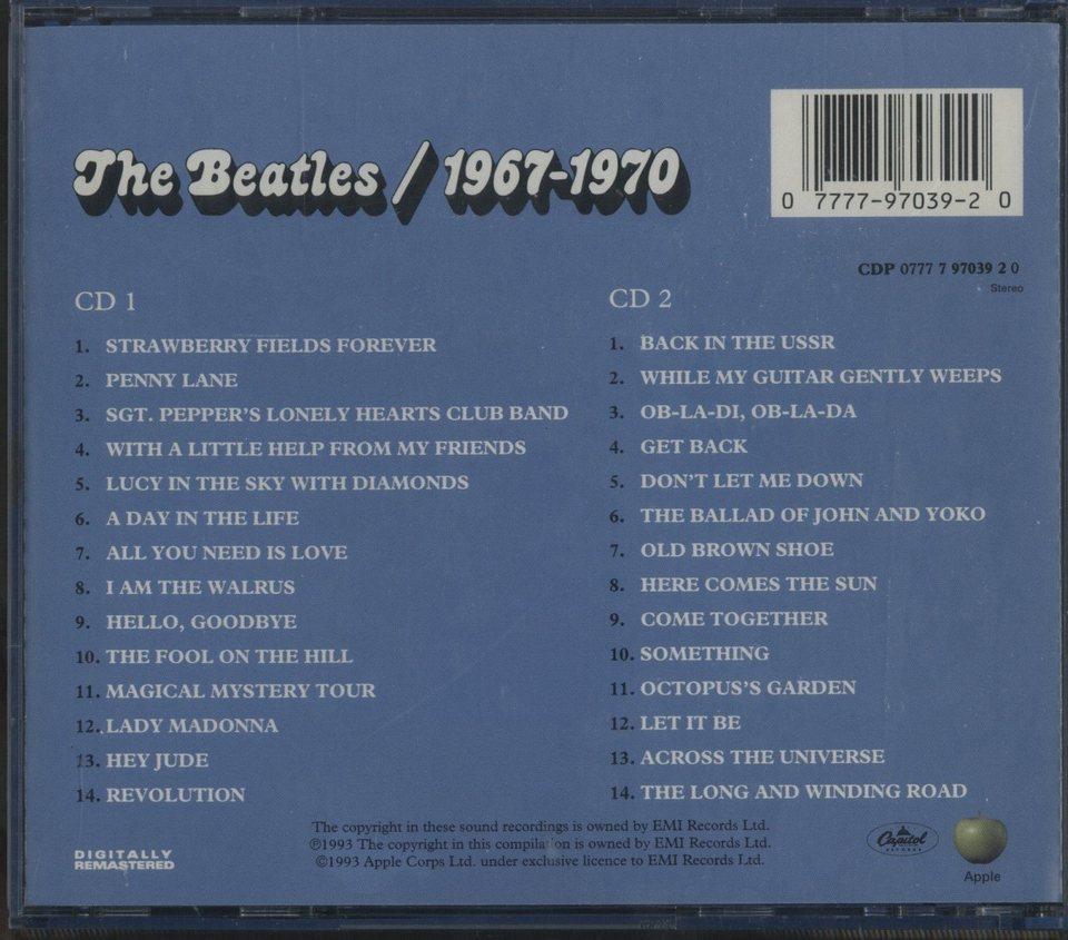 THE BEATLES 1967-1970/THE BEATLES - HiFi-Do McIntosh/JBL