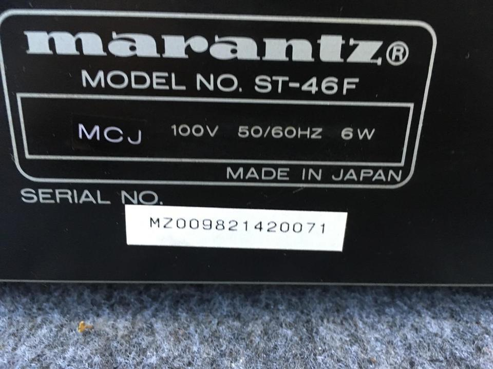 ST-46F marantz 画像