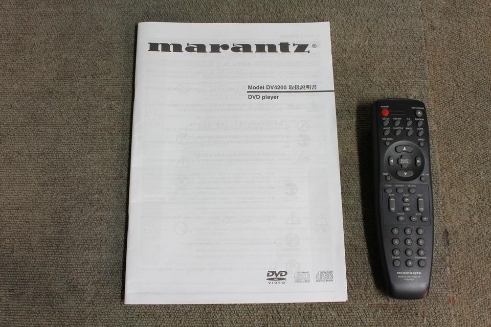 DV4200 marantz 画像