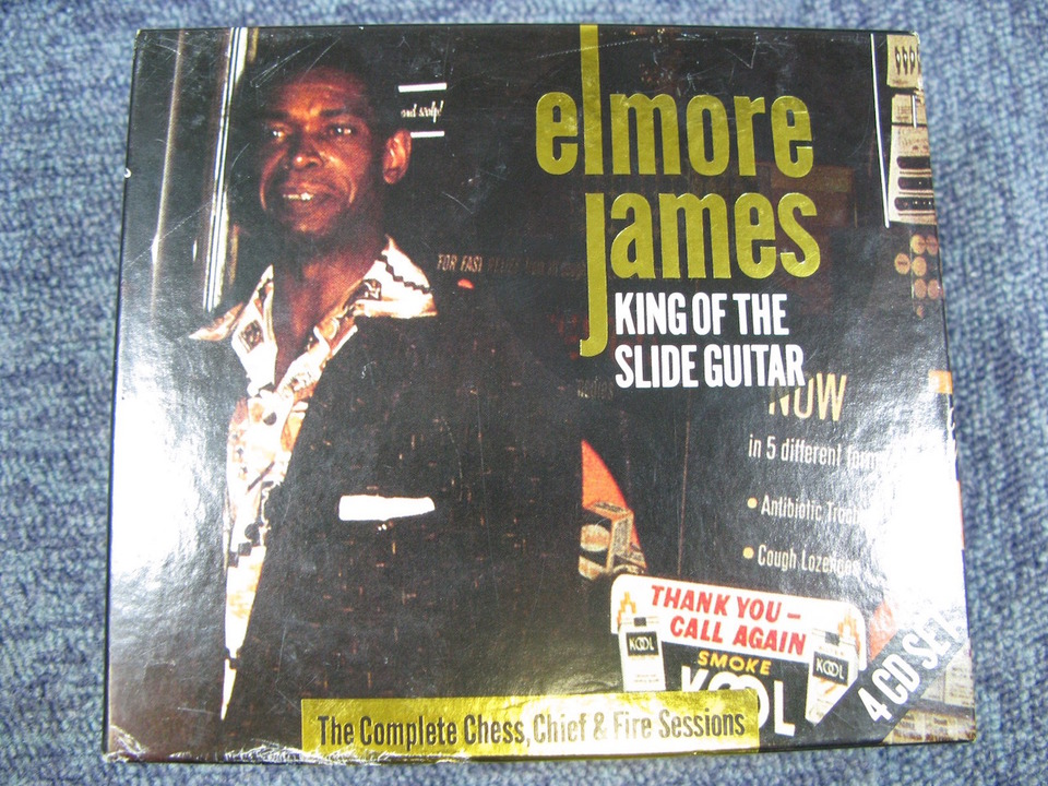 KING OF THE SLIDE GUITAR/ELMORE JAMES ELMORE JAMES 画像