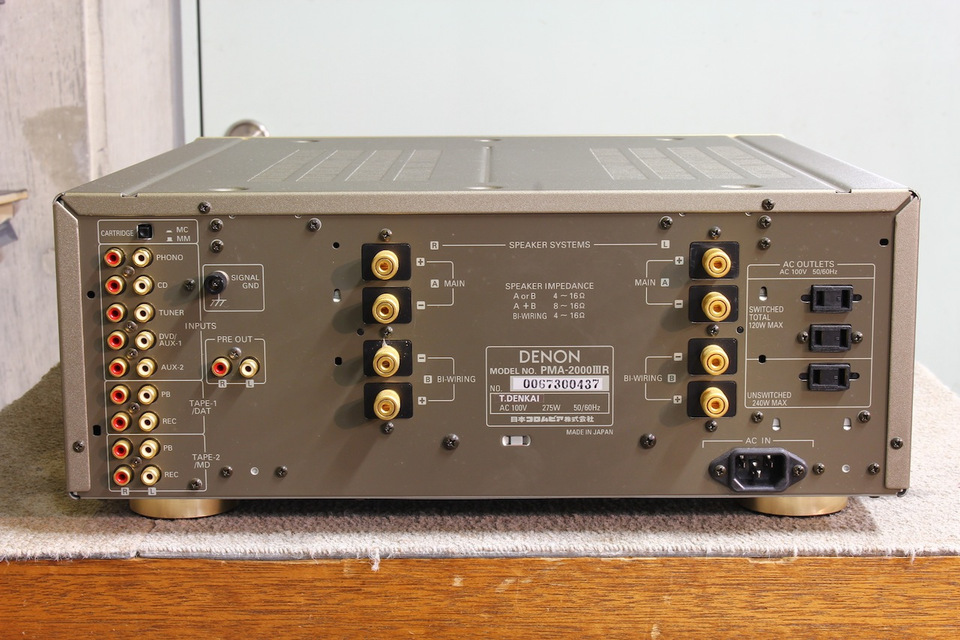 PMA-2000/3R DENON 画像