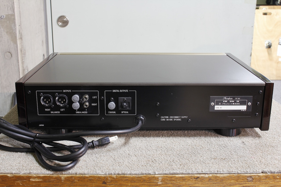 DP-60 Accuphase 画像