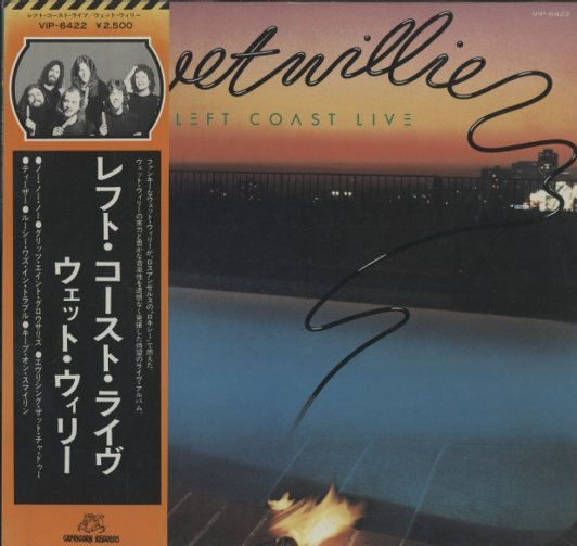 LEFT COAST LIVE/WET WILLIE WET WILLIE 画像