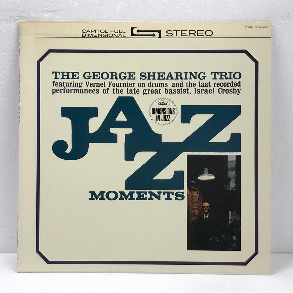 JAZZ MOMENTS/GEORGE SHEARING GEORGE SHEARING 画像