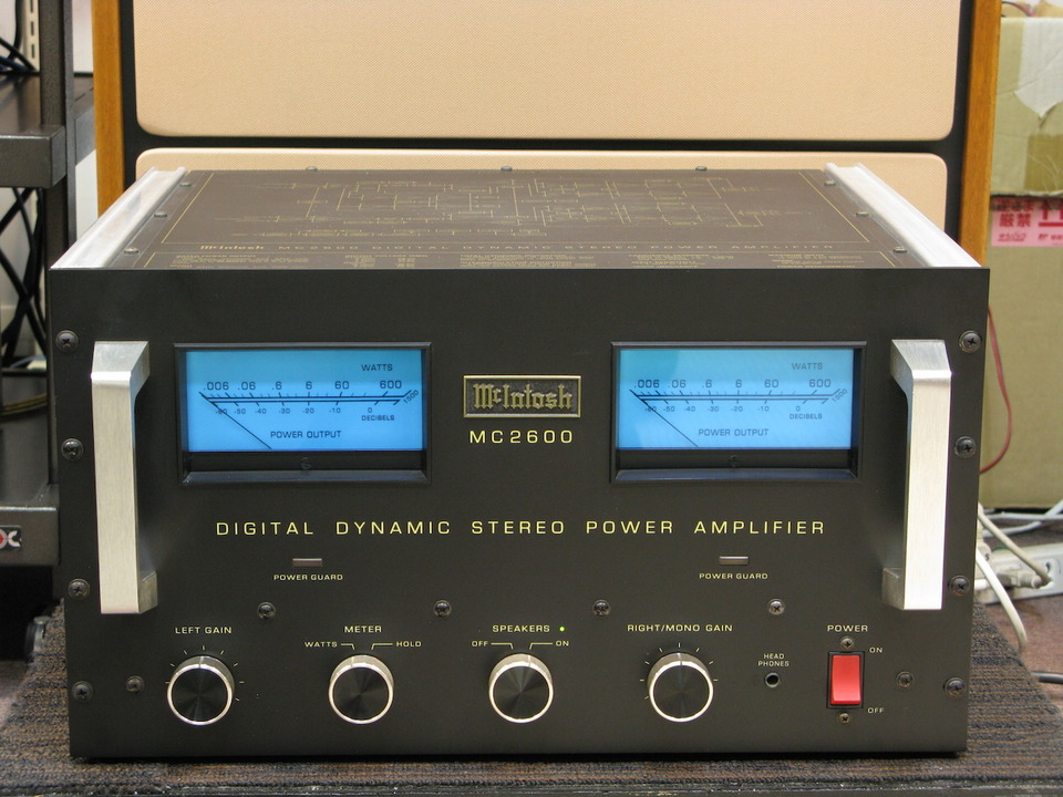 MC2600 McIntosh - HiFi-Do McIntosh/JBL/audio-technica/Jeff Rowland