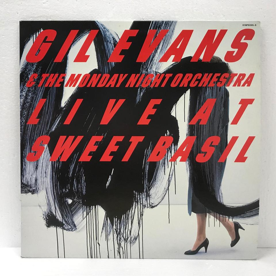 GIL EVANS &THE MONDAY NIGHT ORCHESTRA LIVE AT SWEET BASIL GIL EVANS 画像