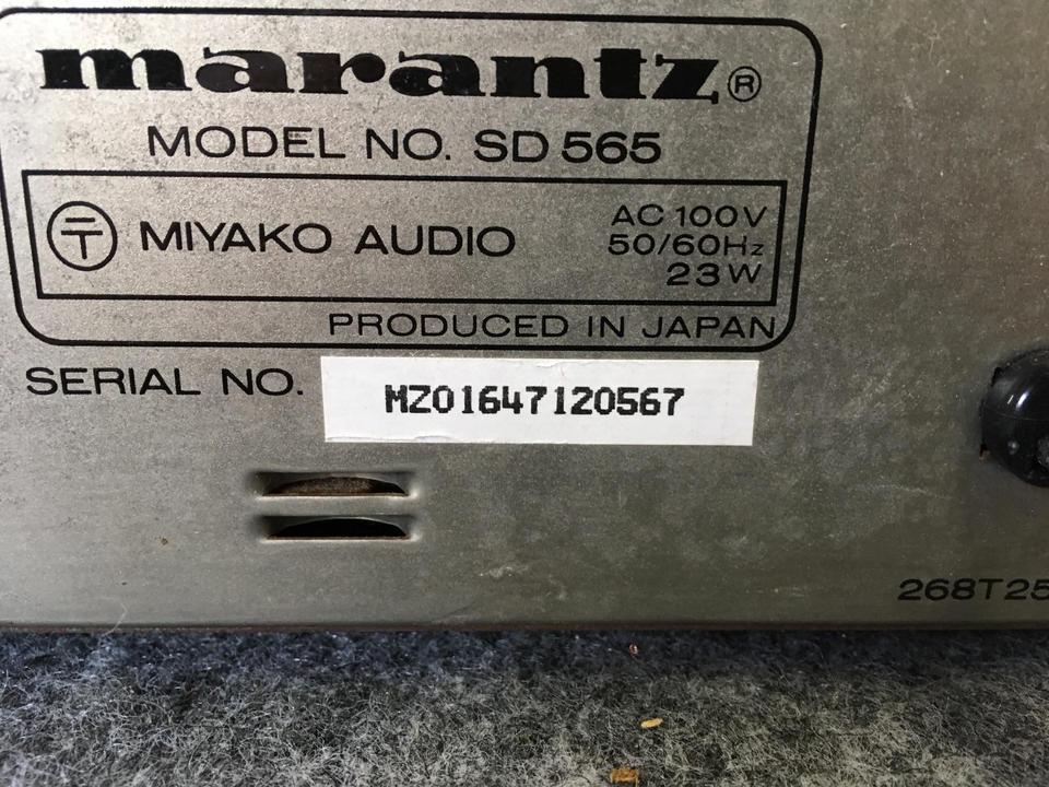 SD565 marantz 画像