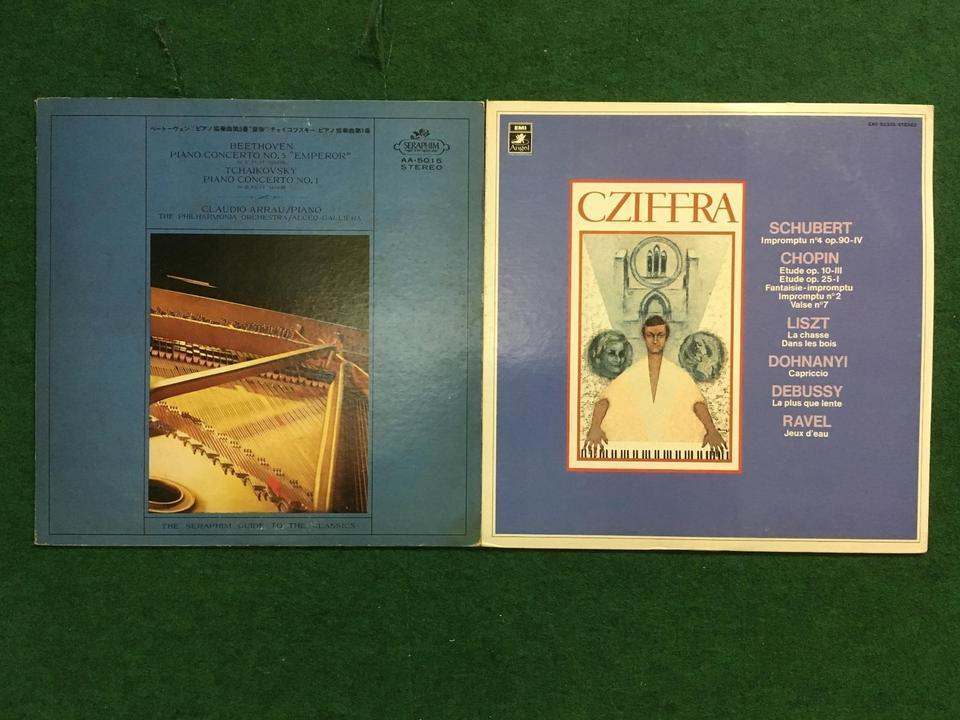 クラシック ピアノ12枚セット  画像