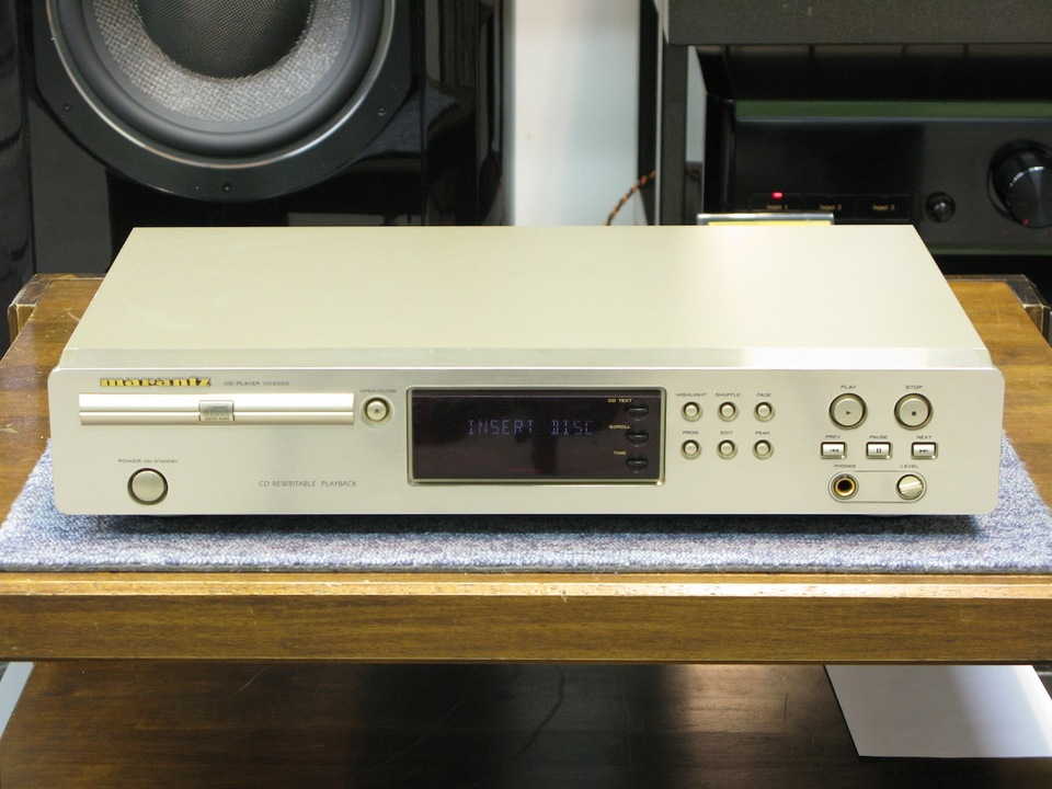 CD5000 marantz 画像