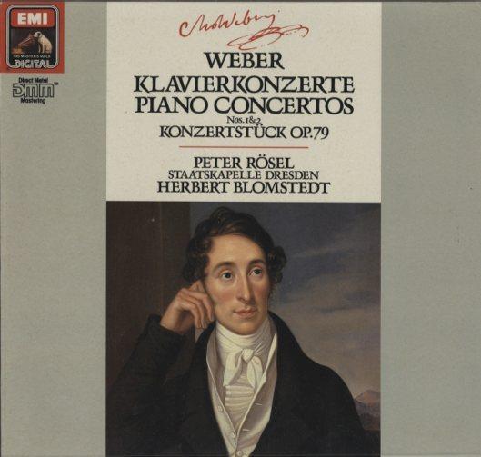 ウェーバー:ピアノ協奏曲第1番、第2番、小協奏曲 ウェーバー 画像