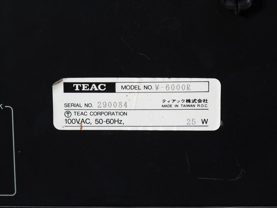 W-6000R TEAC 画像