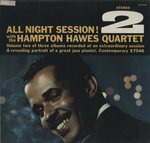 ALL NIGHT SESSION VOL.2/HAMPTON HAWES