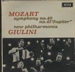 モーツァルト:交響曲第40番、第41番「ジュピター」