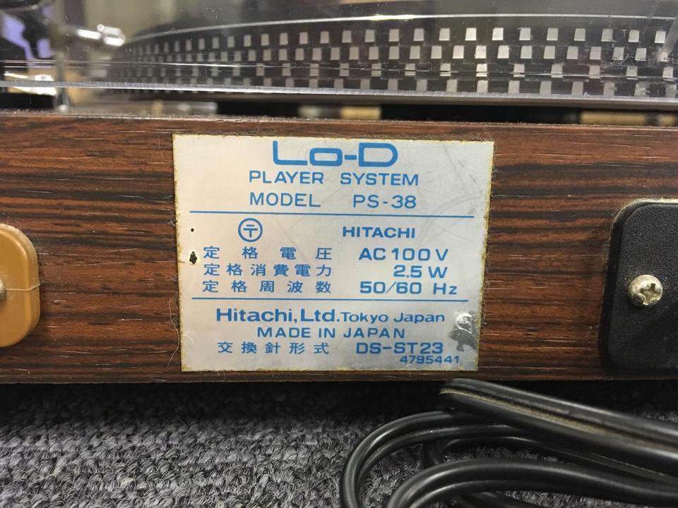PS-38 Lo-D 画像