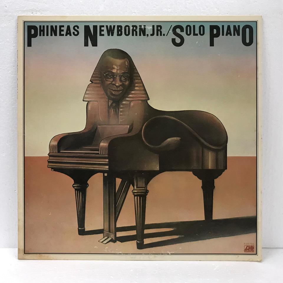 SOLO PIANO/PHINEAS NEWBORN,JR. PHINEAS NEWBORN,JR. 画像