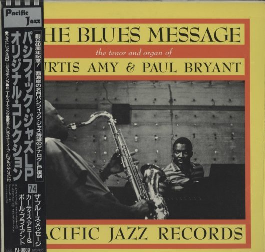 THE BLUES MESSAGE/CURTIS AMY CURTIS AMY 画像