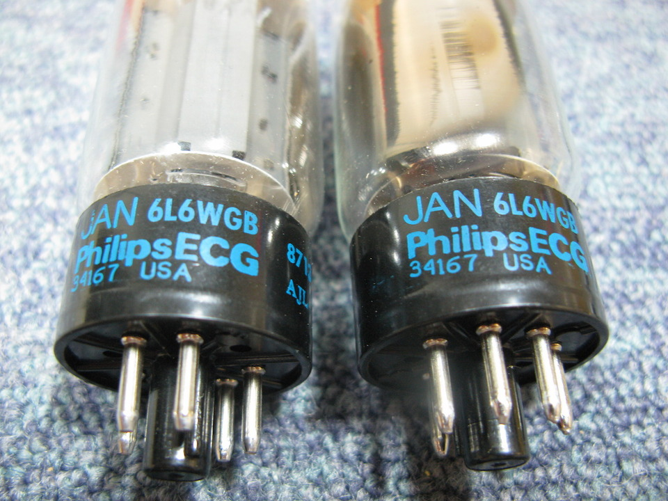 6L6WGB PhilipsECG 画像