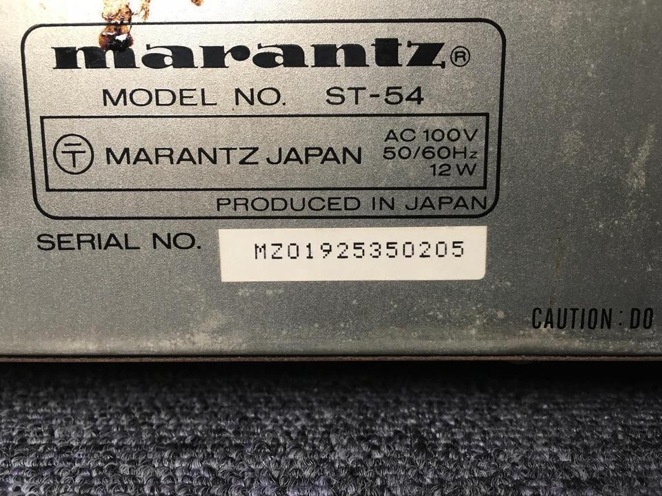 ST-54 marantz 画像