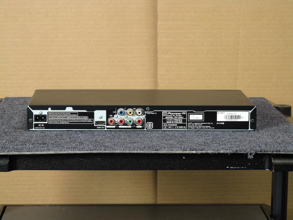 DV-220V Pioneer 画像