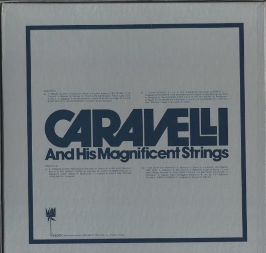 CARAVELLI AND HIS MAGNIFICENT STRINGS  画像