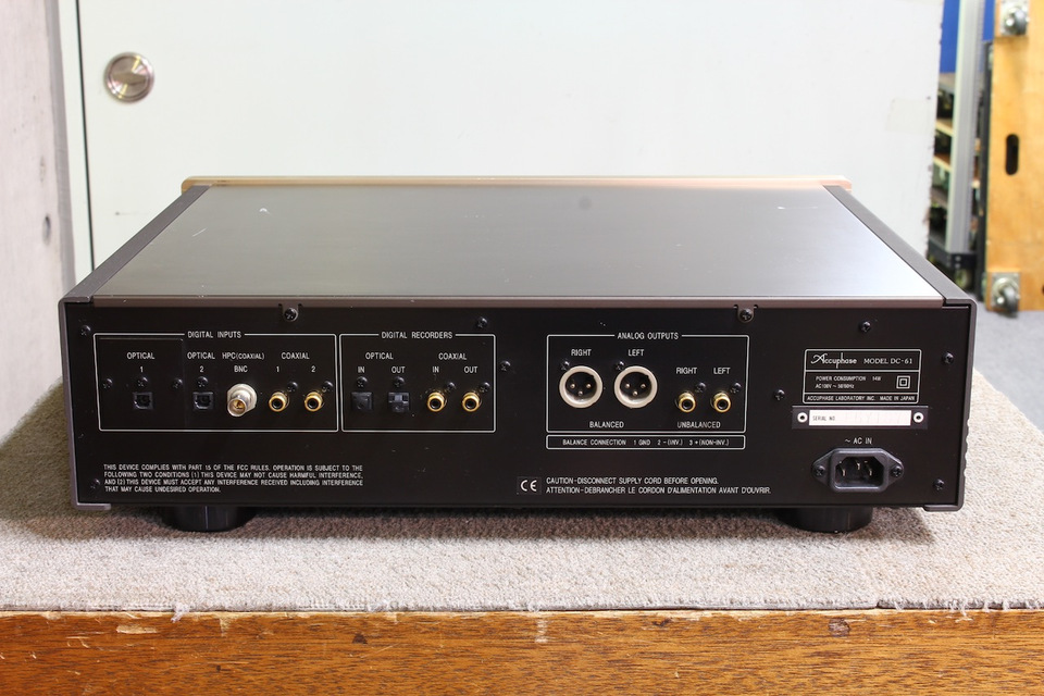 DC-61 Accuphase 画像