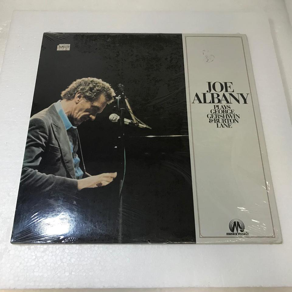 JOE ALBANY PLAYS GEORGE GERSHWIN & BURTON LANE JOE ALBANY 画像