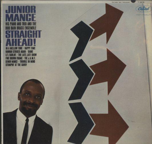 STRAIGHT AHEAD/JUNIOR MANCE JUNIOR MANCE 画像