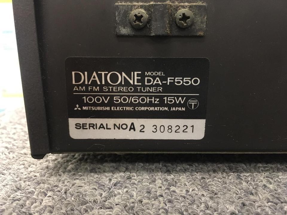 DA-F550 DIATONE 画像