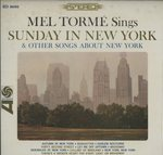 MEL TORME SINGS SUNDAY IN NEW YORK