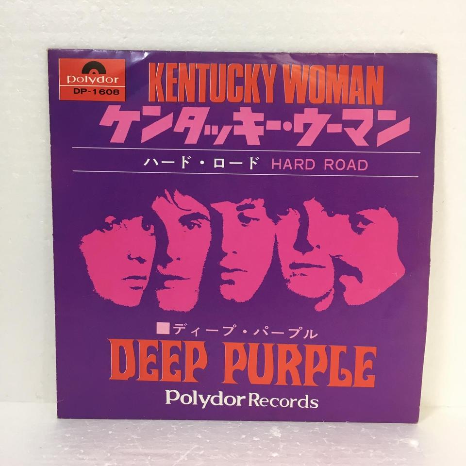 「KENTUCKY WOMAN」「HARD ROAD」/DEEP PURPLE DEEP PURPLE 画像