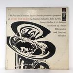 MUSIC FOR BRASS/THE BRASS ENSEMBLE OF THE JAZZ AND CLASSICAL MUSIC SOCIETY