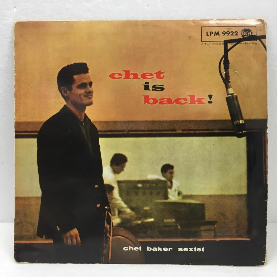 CHET IS BACK/CHET BAKER CHET BAKER  LPジャズ 画像a