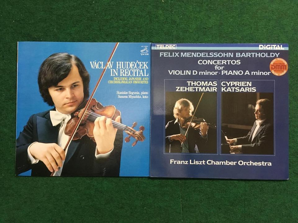 クラシック ヴァイオリン12枚セット  画像