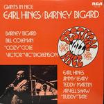 GIANTS IN NICE/EARL HINES/BARNEY BIGARD