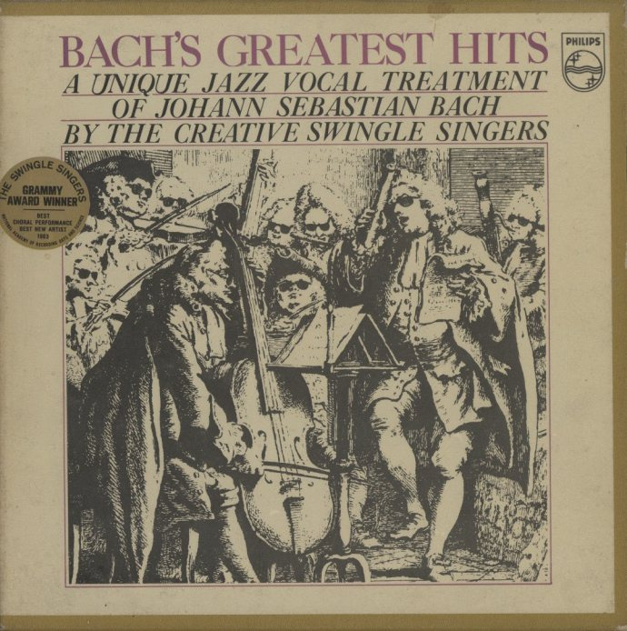 BACH'S GREATEST HITS/SWINGLE SINGERS  画像