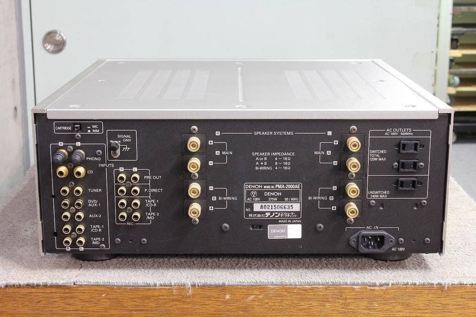 PMA-2000AE DENON 画像