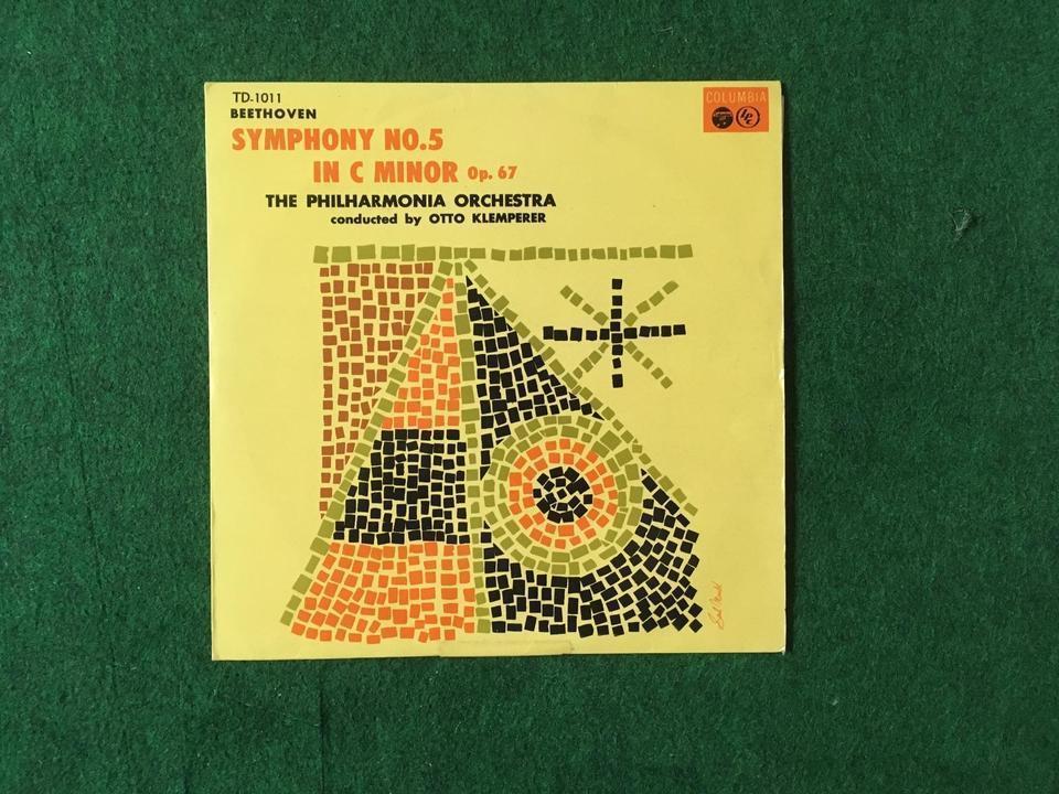 クラシック 交響曲10インチ5枚セット  画像