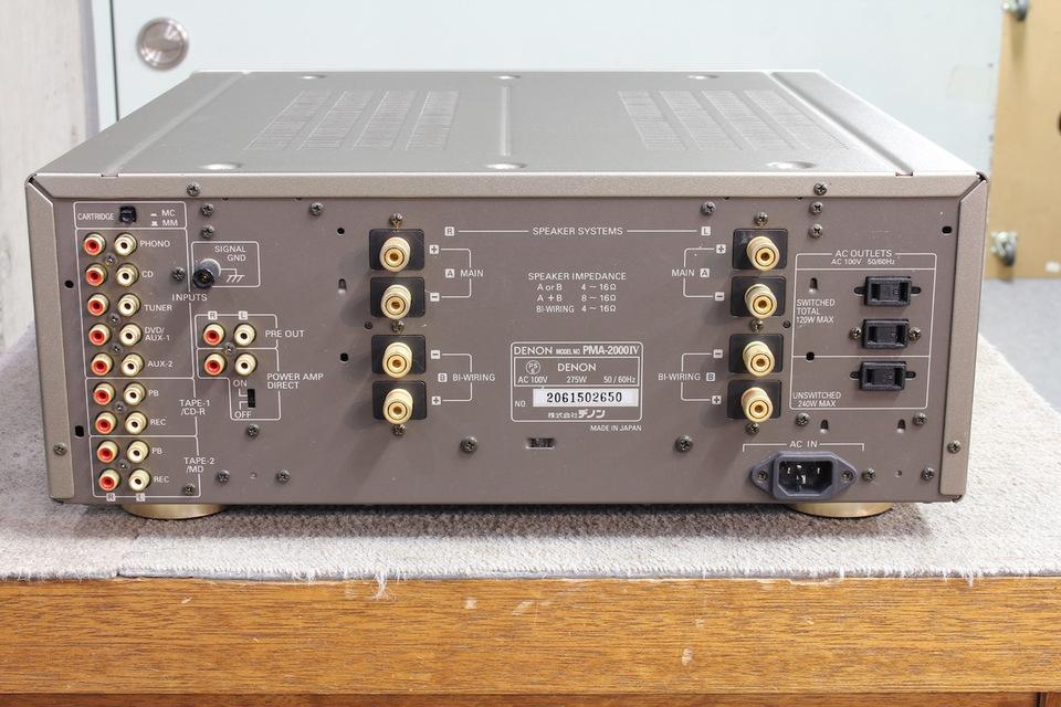 PMA-2000/4 DENON 画像